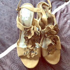 e22ade131685 jcpenney Shoes - Super cute cork and suede wedges from JCP!